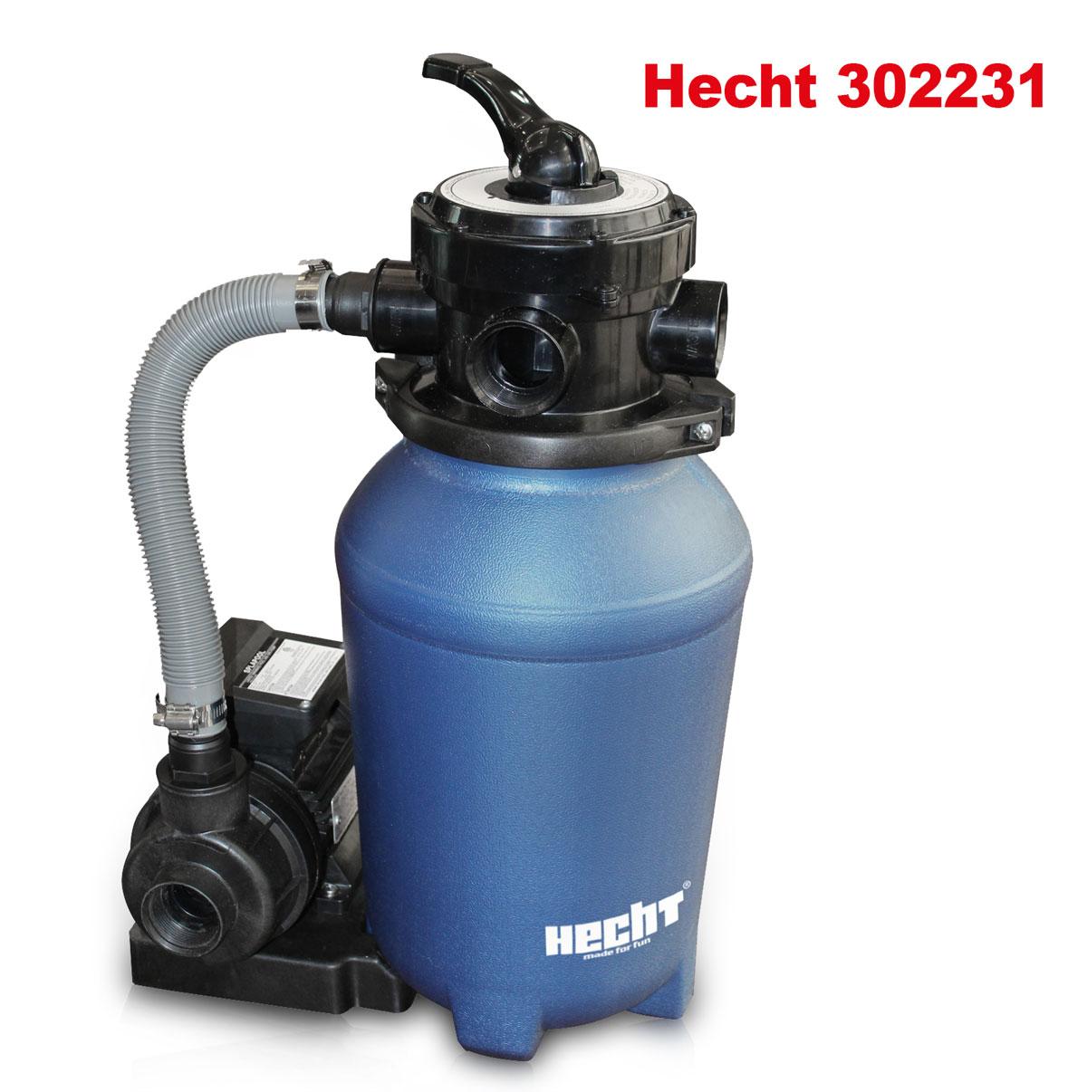 Hecht sandfilteranlage sandfilter poolfilter poolpumpe filteranlage wasserfilter ebay - Pool filter reinigen ...