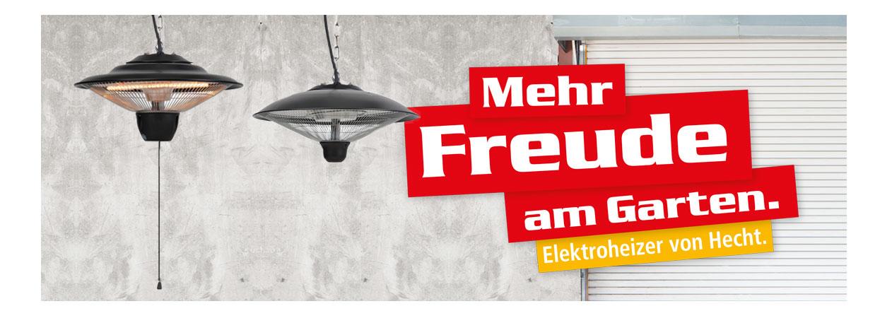 Hecht 3515 /& 3516 Infrarot Deckenstrahler Heizstrahler Heizpilz Terassenstrahler