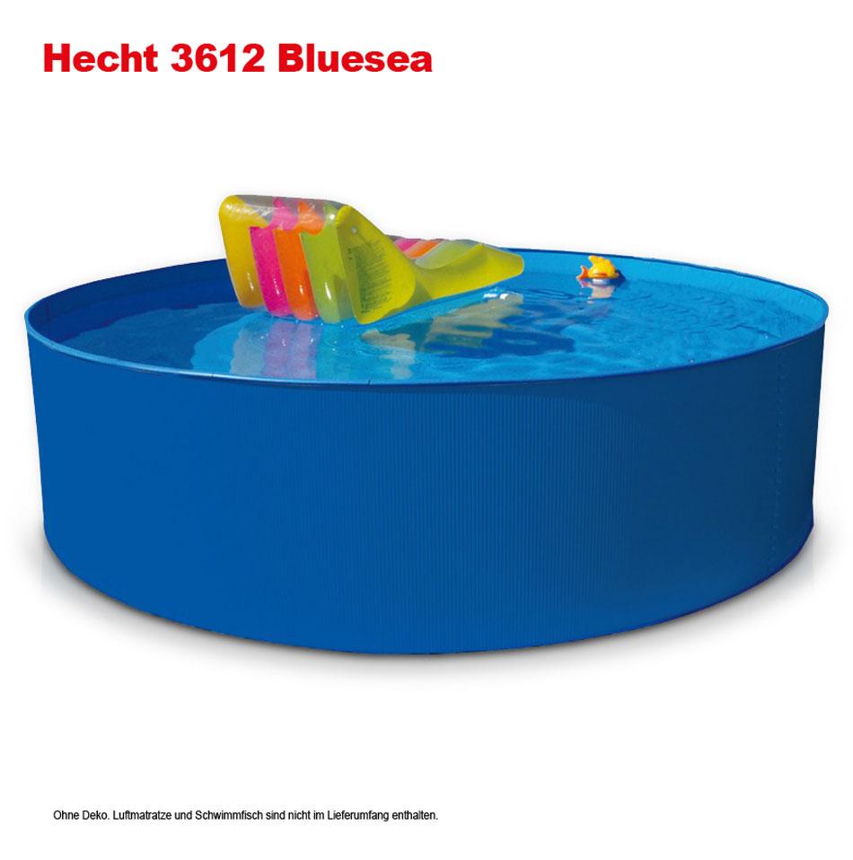 Hecht stahlwandpool schwimmbecken 3 50 m oder 3 60 m for Pool rund 3 60