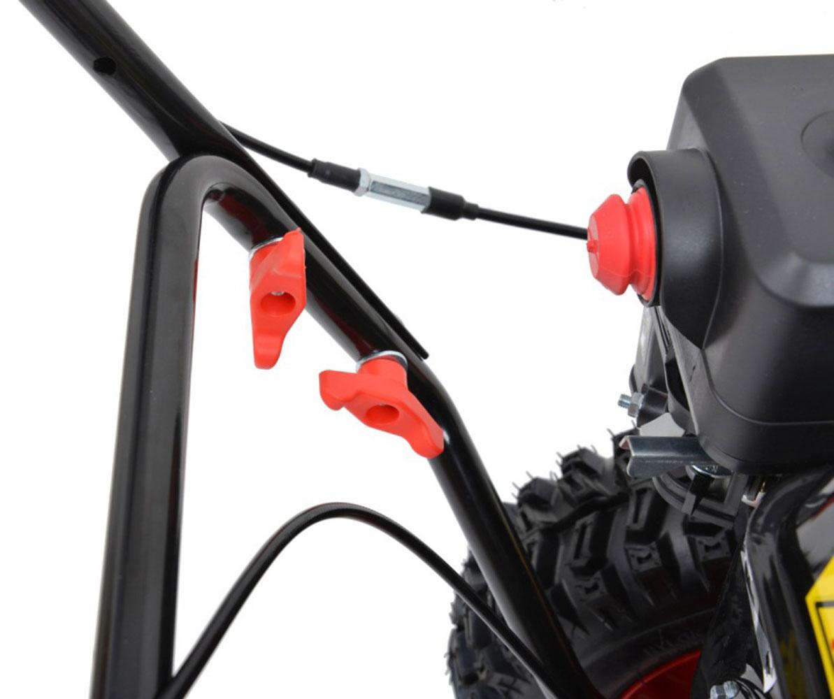 hecht 8616 se kehrmaschine schneefr se motorbesen mit elektro start ebay. Black Bedroom Furniture Sets. Home Design Ideas