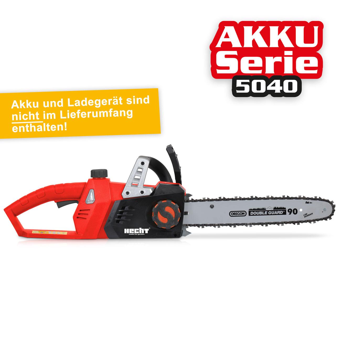 Hecht 9936 Akku Kettensäge Akkusäge Motorsäge Säge ✔ 40 Volt  ✔ Li-Ion