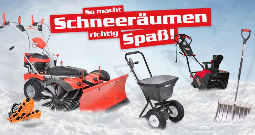 Winterdienst – Schneeräumen leicht gemacht.