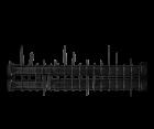 Ersatzmesser 18 Komplett-Set Hecht 5654