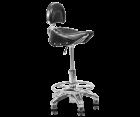 Hecht 000999 Werkstatthocker Werkstattstuhl Sitz Montagesitz  Werkstattsitz