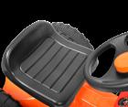 Hecht 51415 Trettraktor Kindertraktor Kindertrecker Kinder Bagger Baggerschaufel mit Anhänger