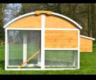 Hühnerstall Stall Voliere Hühner Zooprimus Kikiriki