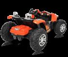 Hecht 56058 Kinderauto Elektroauto Akku Kinderauto Kinderfahrzeug batteriebetrieben Kinder Akku Auto für zwei 2