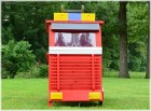 Hecht Kaninchenstall Hasenstall Modell Feuerwehrauto Stall Holz