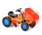Hecht 51412 Trettraktor Kindertraktor Kindertrecker Kindertrettrecker mit Muldenkipper und Anhänger