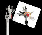 Hecht JZN356 Telskopbaumschere Baumschere Aluminium inklusive Baumsäge Säge