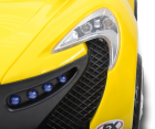 Hecht 51118 Elektroauto gelb Roadster Kinderauto batteriebetrieben Roadster