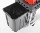 Hecht 6284 xl Turbo-Power-Elektro Gartenhäcksler mit 60 Liter Auffangbehälter