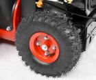 Hecht 9022 Benzin Schneefräse 5 PS