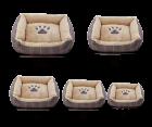 Hundebett hundekissen Hundedecke beige Braun XXL XL L M S zooprimus