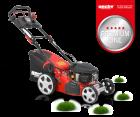 Hecht 543 SWE 5 in 1 Benzin Rasenmäher Benzinmäher E-Start Elektrostart 43 cm Schnittbreitte