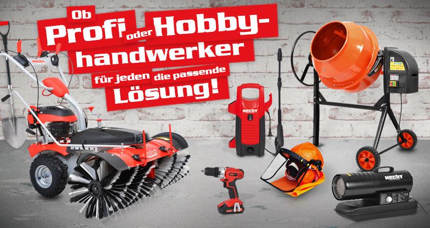 Haus, Hof & Werkstatt – Große und kleine Helfer, die die Arbeit leichter machen.