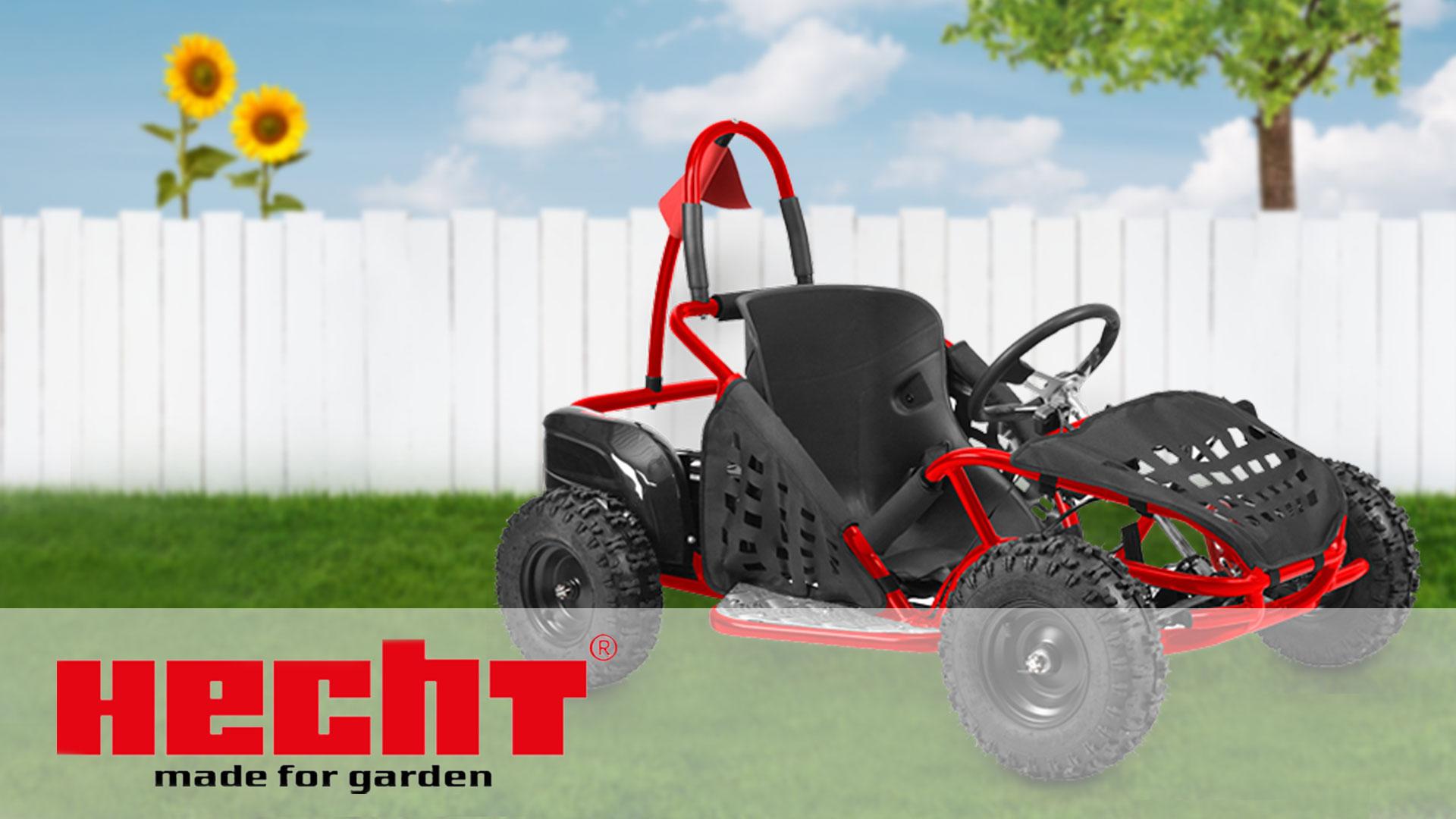 hecht 54812 elektro buggy f r kinder i mit starken. Black Bedroom Furniture Sets. Home Design Ideas
