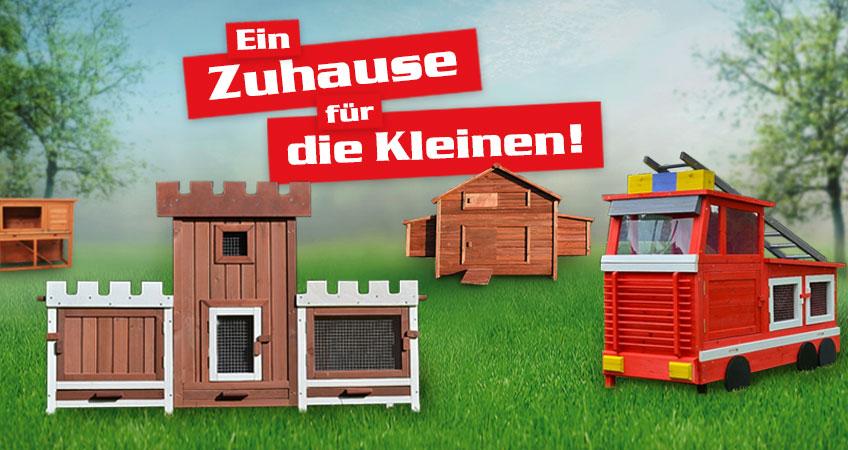 Kleintierställe – Schöner Wohnen für Kaninchen, Hühner und Co.!