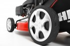 HEcht 546 SXW Benzin Rasenmäher Radantrieb Reifenprofil